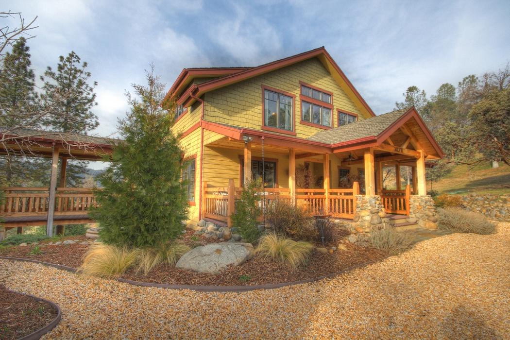 Oakhurst Home For Sale 10 Acres