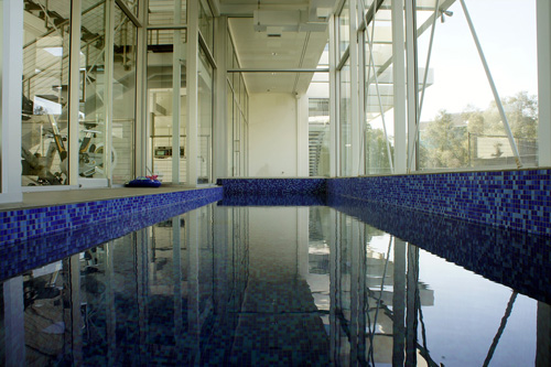 The Glass House Indoor Pool