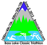 3rd Annual Bass Lake Classic Triathlon