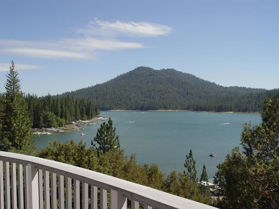 View of Bass Lake Ca From Vander Poel Home Bass Lake California