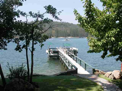 Lake Front Home Dock Bass Lake Ca