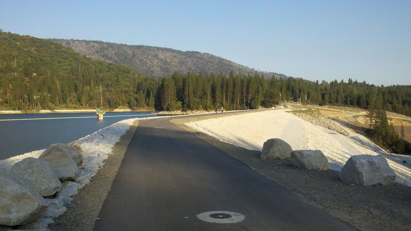 Crane Valley Dam Crest