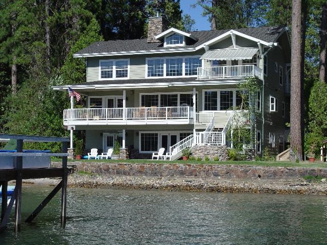 Lakefront Bass Lake Rental Home