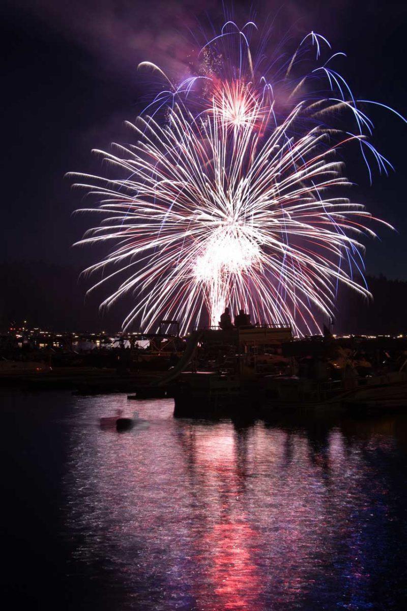 Bass Lake Fireworks 2017 on Bass Lake Realty dot com