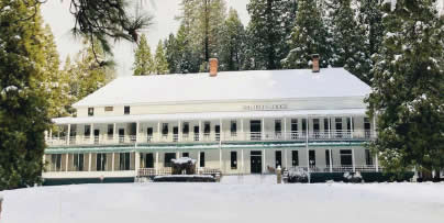 New Year's Eve Celebrations at the Big Trees Lodge 2019 Wawona Hotel published by Bass Lake Realty