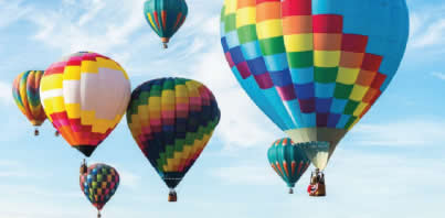Balloons for New Year's Gala at Erna's Elderberry House published by Bass Lake Realty