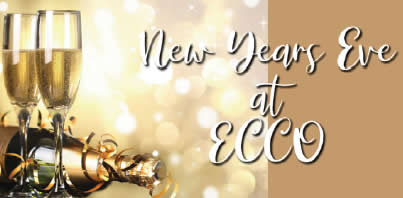 New Year's Eve 2019 at ECCO Flier published by Bass Lake Realty