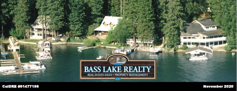Bass Lake Realty JPG Image Header Monthly Real Estate Newsletter