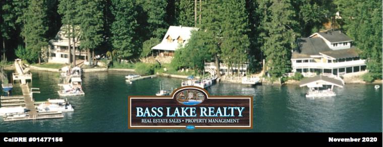 Bass Lake Realty JPG Image Header Monthly Real Estate Newsletter