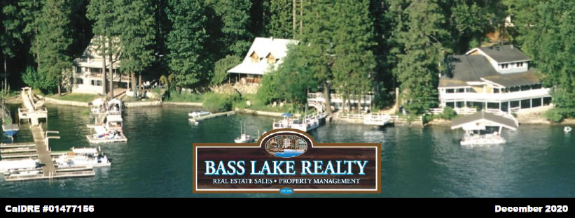 Bass Lake Realty December 2020 Newsletter Header Image JPG