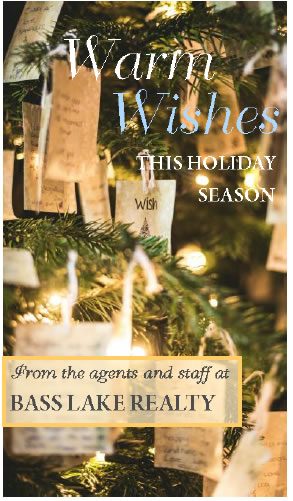 Warm Holiday Wishes 2020 this Holiday Season Image Bass Lake Realty