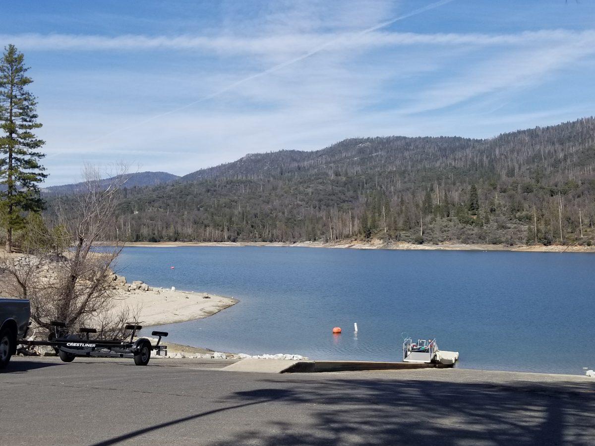 Bass Lake Wishon Dam Boat Ramp JPG Image Yosemite Bass Lake News March 2021