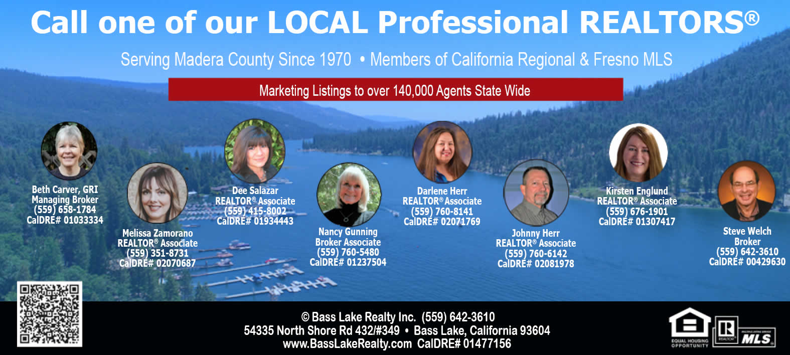 Image of the Bass Lake Realty Team as of April 19th 2021